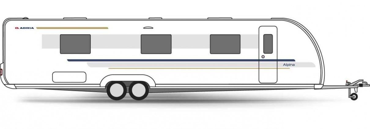 Grote Caravan Adria Alpina 903 Ht Serv Media