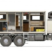 Bliss Mobil, Mercedes Zetros 6x6 20' Body