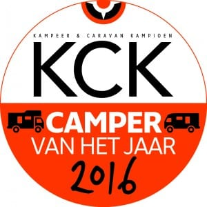 Vignet anwb kck Camper van het jaar 2016