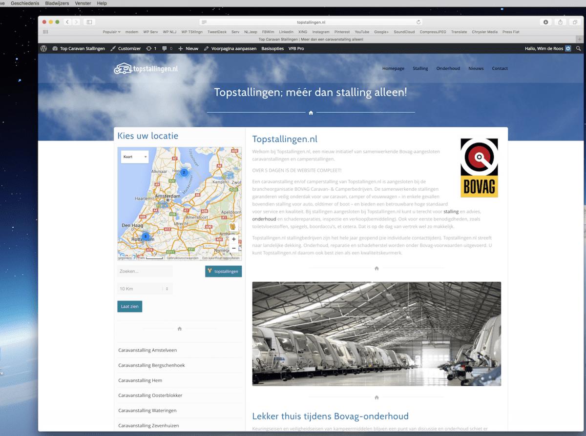 topstallingen.nl website