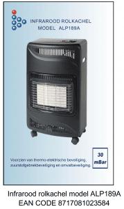 Infrarood rolkachel model ALP189A EAN CODE 8717081023584