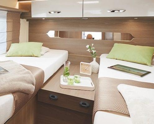 nieuw matras gebruikte camper caravan