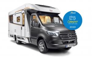 Camper van het Jaar 2020; de Bürstner Lyseo M Harmony Line 660