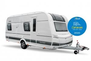 Caravan van het Jaar 2020; Dethleffs Nomad 490 BLF