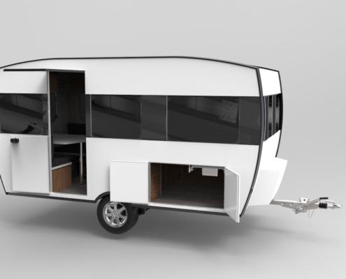 Knaus travelino prototype exterieur
