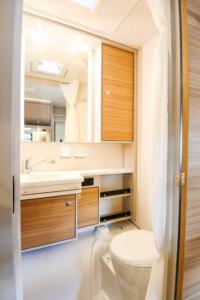 Caravan 2019 Dethleffs Generation toiletruimte