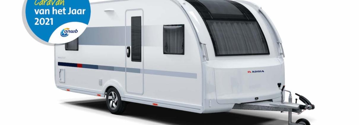 Caravan van het Jaar 2021 Adria Adora prijswinnaar anwb verkiezing